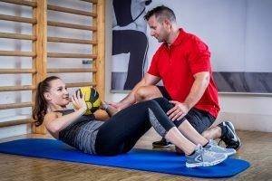 Personaltrainer Thomas Sackl, Fit mit Tom, Bauchübung